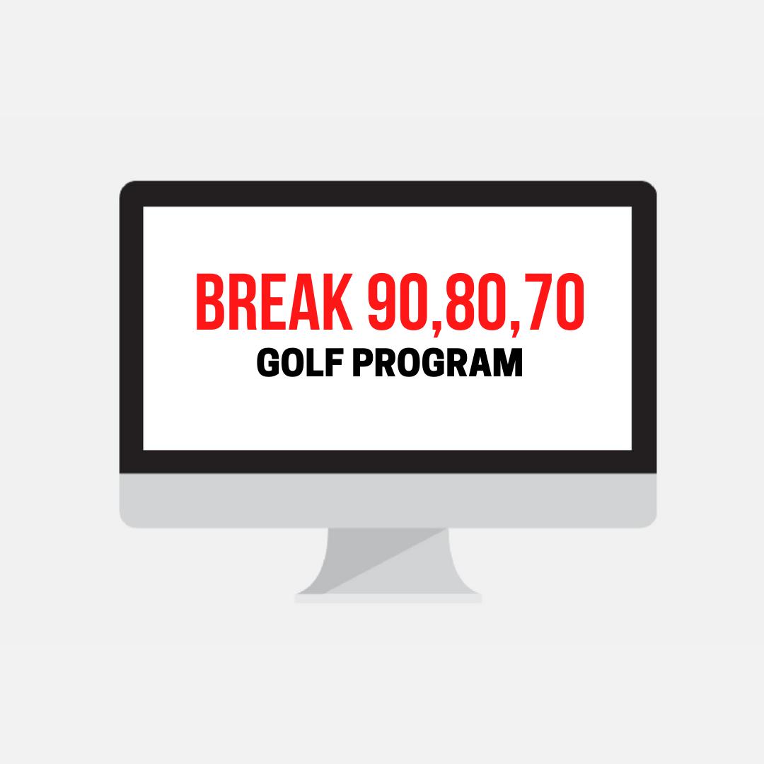 break 90,80,70 golf program
